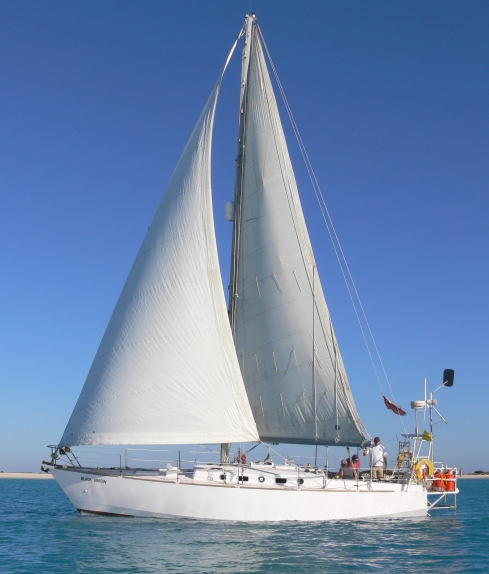 S/Y Black Arrow, steel sloop